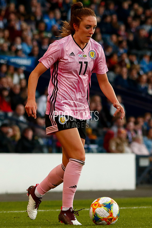 Scotlands Lisa EVANS (Arsenal WFC (ENG)) during the International Friendly match between Scotland Women and Jamaica Women at Hampden Park, Glasgow, United Kingdom on 28 May 2019.