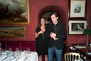 ROSEMARY FERGUSON, Dinner hosted by Elizabeth Saltzman for Mario Testino and Kate Moss. Mark's Club. London. 5 June 2010. -DO NOT ARCHIVE-© Copyright Photograph by Dafydd Jones. 248 Clapham Rd. London SW9 0PZ. Tel 0207 820 0771. www.dafjones.com.