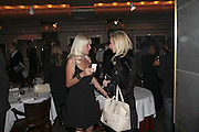 Jenny Halpern and Lindsay Carlos-Clarke, Bob Carlos Clarke: Dark Genius - launch & memorial <br />at  Luciano, 72 St James's Street, London, SW1, Party at Sir Rocco Forte and Marco Pierre White's restaurant launching new permanent exhibition of pieces by the late Irish photographer, 13 November 2006. ONE TIME USE ONLY - DO NOT ARCHIVE  © Copyright Photograph by Dafydd Jones 66 Stockwell Park Rd. London SW9 0DA Tel 020 7733 0108 www.dafjones.com
