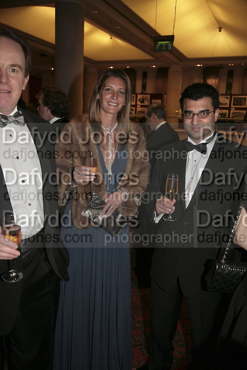 Michelle and Angad Paul, Morgan Stanley Great Briton 2006. The Guildhall. Basinghall st. London. 18 January 2006. h by Dafydd Jones. 248 Clapham Rd. London SW9 0PZ. Tel 0207 820 0771. www.dafjones.com.