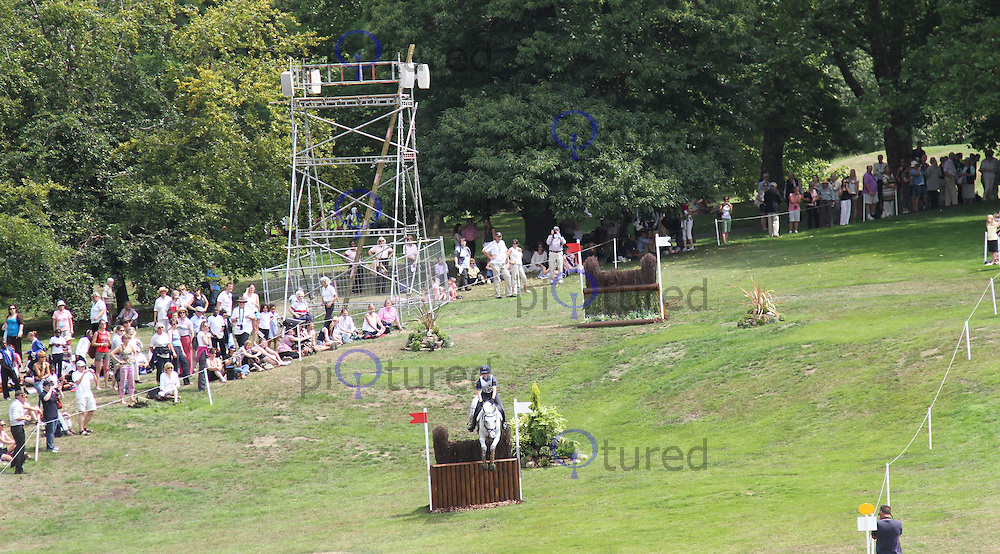 Vittoria Panizzon; Borough Pennyz London 2012 Olympics Sport Testing Program Greenwich Park Cross Country Eventing, London, UK, 05 July 2011:  Contact: Rich@Piqtured.com +44(0)7941 079620 (Picture by Richard Goldschmidt)