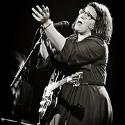 Guitarist Brittany Howard & Alabama Shakes live at The Riverside Theater in Milwaukee on 11/30/12. Photo © 2012  Jennifer Rondinelli Reilly. All Rights Reserved. No use without permission. Contact me for any reuse or licensing inquiries.