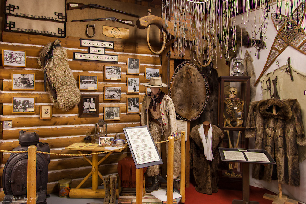 Old Trail Museum, Circle Eight Ranch Exhibit