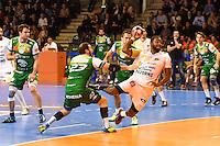 Sebastien Garain / Florent Ferreiro - 01.04.2015 - Nimes / Saint Raphael - 19eme journee de Division 1<br />Photo : Andre Delon / Icon Sport