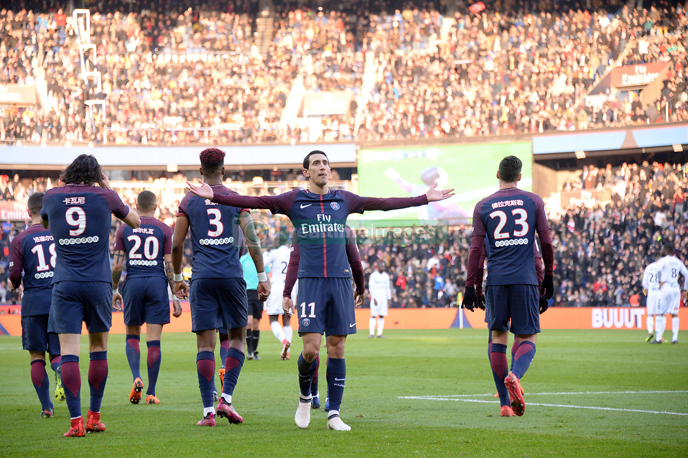 February 17, 2018 - Paris, France - 11 ANGEL DI MARIA (psg) - JOIE (Credit Image: © Panoramic via ZUMA Press)