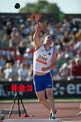 GREZL Dusan, CZE, Shot Put, F38, 2013 IPC Athletics World Championships, Lyon, France