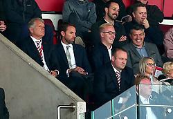 England Manager Gareth Southgate watches Stoke City v Arsenal - Mandatory by-line: Robbie Stephenson/JMP - 19/08/2017 - FOOTBALL - Bet365 Stadium - Stoke-on-Trent, England - Stoke City v Arsenal - Premier League