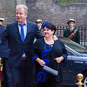 NLD/Den Haag/20130917 -  Prinsjesdag 2013, Staatssecretaris van Economische zaken Sharon Dijksma en partner Thomas Windmulder