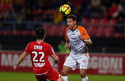 January 13, 2019 - Dijon, France - Daniel Congre ( Montpellier ) - Chang Hoon Kwon  (Credit Image: © Panoramic via ZUMA Press)