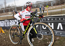 13.01.2019, Wien, AUT, ÖRV, Rad Radcross Staatsmeisterschaft, Herren Elite im Bild Meister Gregor Raggl (AUT, Möbel Märki MTB Pro Team) // during mens elite cyclo cross championship, Vienna, Austria on 2019/01/03. EXPA Pictures © 2019, PhotoCredit: EXPA/ R. Eisenbauer