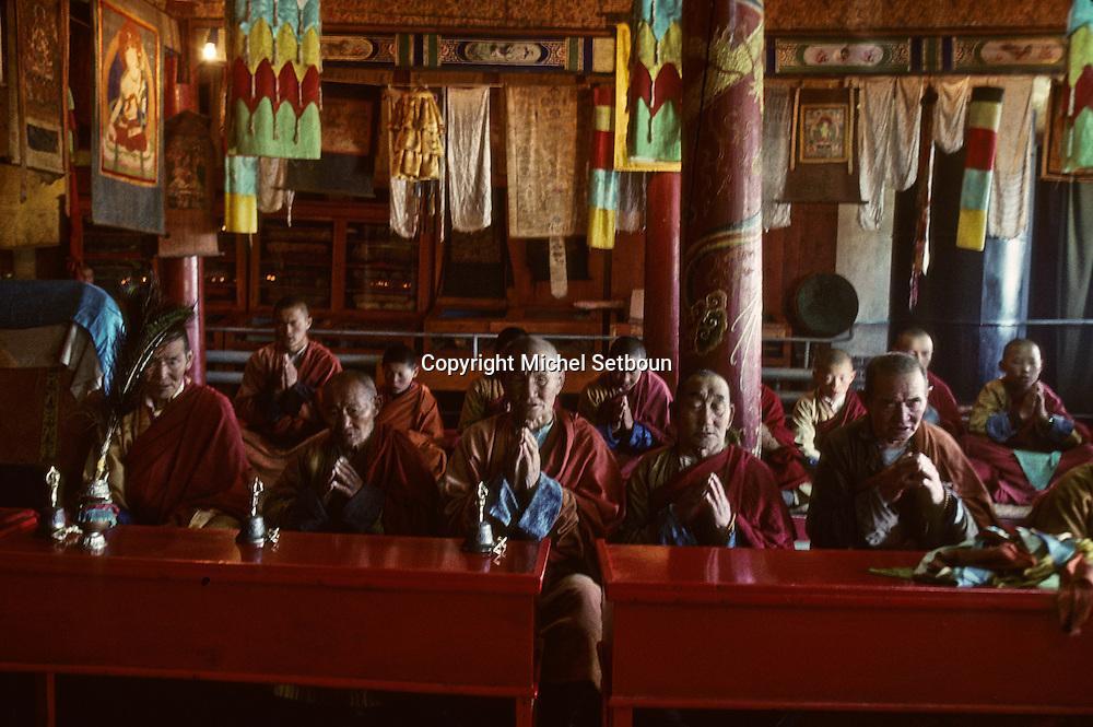 Mongolia. Shankin Barun Kuree new monastery Hurjit area