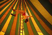 Clown Girl, Glastonbury, 1994.
