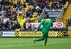 NOTTINGHAM, ENGLAND - Saturday, October 6, 2012: Tranmere Rovers' Adam McGurk in action against Notts County during the Football League One match at Meadow Lane. (Pic by David Rawcliffe/Propaganda)