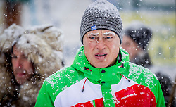 27.01.2015, Planai, Schladming, AUT, FIS Skiweltcup Alpin, Schladming, Prominenten Eisstockschießen, im Bild Anton Polster // Anton Polster during the VIP ice stock sports of the men's slalom of Schladming FIS Ski Alpine World Cup at the Planai Course in Schladming, Austria on 2015/01/27, EXPA Pictures © 2015, PhotoCredit: EXPA/ Erwin Scheriau