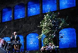 28.07.2016, Festspielhaus, Salzburg, AUT, Salzburger Festspiele, Eroeffnungsakt, im Bild Musiker, Trommler // Musicians, drummer during the Opening Ceremony of the Salzburg Festival, it takes place from 22 July to 31 August 2016, at the Festspielhaus in Salzburg, Austria on 2016/07/28. EXPA Pictures © 2016, PhotoCredit: EXPA/ JFK