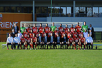 Equipe Lorient - 02.11.2015 - Portrait Officiel Lorient<br /> Photo : Philippe Le Brech / Icon Sport
