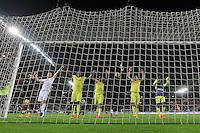 Joie Nantes - 17.04.2015 - Nantes / Marseille - 33eme journee de Ligue 1<br />Photo : Vincent Michel / Icon Sport
