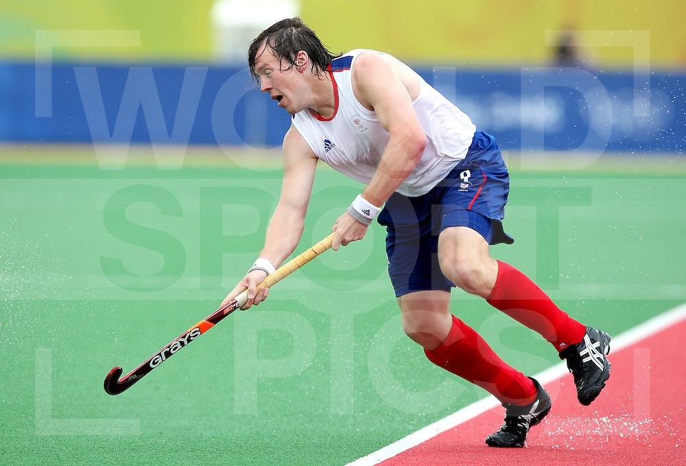 Stephen Dick of Great Britain, Hockey, Great Britain Vs Pakistan on day 3 at the ..Beijing Olympic Green Hockey Stadium 11-8-08  ..Photo: Grant Treeby/WSP