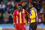 ©Jonathan Moscrop - LaPresse<br /> 02 07 2010 Johannesburg ( Sud Africa )<br /> Sport Calcio<br /> Uruguay vs Ghana - Mondiali di calcio Sud Africa 2010 Quarti di finale - Soccer City Johannesburg<br /> Nella foto: delusione di Asamoah Gyan<br /> <br /> ©Jonathan Moscrop - LaPresse<br /> 02 07 2010 Johannesburg ( South Africa )<br /> Sport Soccer<br /> Uruguay versus Ghana - FIFA 2010 World Cup South Africa Quarter final - Soccer City Stadium<br /> In the Photo: Asamoah Gyan seen in tears after Ghana's exit following the penalty shoot out
