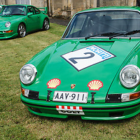 Porsche 911 S/T 1972 on 20/07/2019, at Rennsport Collective, Donington Hall, Leicestershire, UK,
