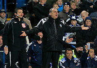 Photo: Tom Dulat.<br /> <br /> Chelsea v Queens Park Rangers. FA Cup Third Round. 05/01/2008. <br /> <br /> Manager of Chelsea Avram Grant during the game.