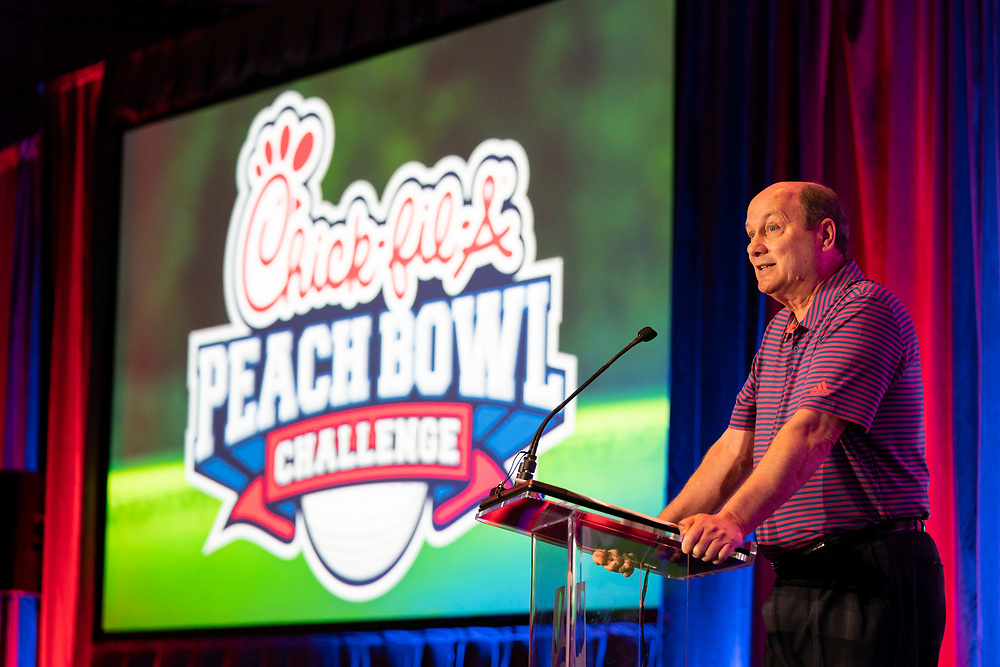 General Images from the Chick-fil-A Peach Bowl Challenge arrival day at the Ritz Carlton Reynolds, Lake Oconee, on Sunday, April 28, 2019, in Greensboro, GA. (Paul Abell via Abell Images for Chick-fil-A Peach Bowl Challenge)