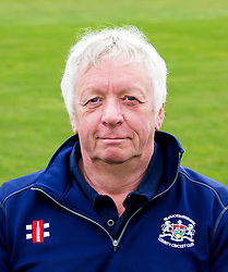 Assistant Academy Coach for Gloucestershire CCC Steve Cashmere poses for a headshot - Mandatory by-line: Robbie Stephenson/JMP - 04/04/2016 - CRICKET - Bristol County Ground - Bristol, United Kingdom - Gloucestershire  - Gloucestershire Media Day