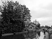 "Maidenhead, United Kingdom.  ""General View Boulters Lock Keepers' Cottage and associated buildings"", Cookham Reach, River Thames between Boulters Lock and Lower Cookham, view from the riverside path, <br /> <br /> Friday  22/05/2015<br /> <br /> © Peter SPURRIER<br /> Panasonic  DMC-LX100  f7.1  1/125sec  24mm  4.6MB"