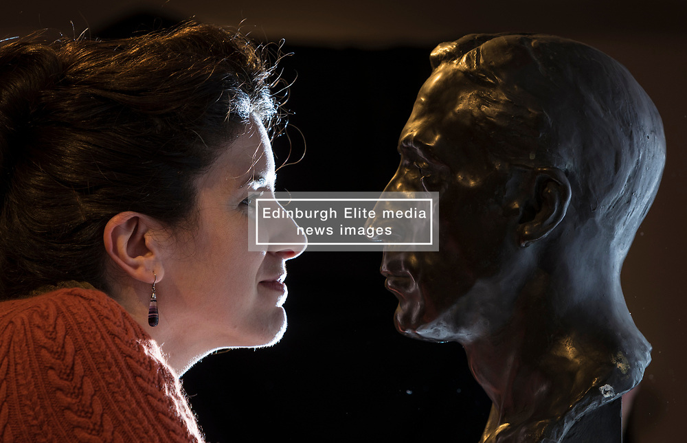 Hidden Gems opens at Edinburgh's City Art Centre on 7 October 2017<br /> <br /> Showcasing 50 artworks from the City Art Centre's collection that have rarely – and in some cases never - been seen before by the public, an exhibition opening at the City Art Centre this weekend (Saturday 7 October) will shine a spotlight on Edinburgh's lesser-known treasures.<br /> <br /> Free to visit, Hidden Gems will include artworks by famous names such as Lucien Pissarro, Man Ray, Joshua Reynolds and F.C.B Cadell, as well as lesser-known figures such as Bessie MacNicol, John Sheriff and Cecile Walton. The display will also bring several new acquisitions to public view for the first time, including significant works by Scottish artists Morris Grassie, Anthony Hatwell and Nicol Laidlaw.<br /> <br /> Spanning over 200 years from the 18th century to the present day, this rich and eclectic selection of historic and modern art covers a range of media, from oil paintings and sculptures, to tapestries and artists' books.<br /> <br /> Pictured: xxxxx with Dr Helen Scott, Curator, City Arts Centre