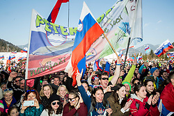 Fans at concert of Mi2 music group at VAL 202 tent after Ski Flying Hill Individual Competition at Day 4 of FIS Ski Jumping World Cup Final 2016, on March 20, 2016 in Planica, Slovenia. Photo by Vid Ponikvar / Sportida
