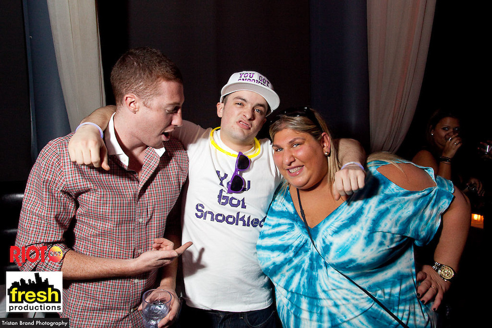 """Fresh Productions presents Fist Pump at Time Supperclub on March 5th, 2010. Mike """"The Situation"""", one of the stars of MTV's Jersey Shores, was the special guest. Much screaming and reaching abounded."""