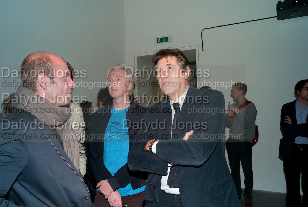 PHILIP TREACY; BRYAN FERRY, Haluk Akakce; Coming Home. Exhibition of work at the Alison Jacques Gallery. 29 April 2010. *** Local Caption *** -DO NOT ARCHIVE-© Copyright Photograph by Dafydd Jones. 248 Clapham Rd. London SW9 0PZ. Tel 0207 820 0771. www.dafjones.com.<br /> PHILIP TREACY; BRYAN FERRY, Haluk Akakce; Coming Home. Exhibition of work at the Alison Jacques Gallery. 29 April 2010.