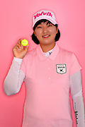 Min Seo Kwak during a portrait session prior to the Symetra Tour's Florida's Natural Charity Classic at the Lake Region Yacht and Country Club on Mar 18, 2013  in Winter Haven, Florida. ..©2013 Scott A. Miller