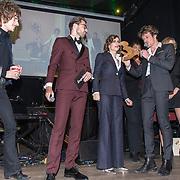 NLD/Amsterdam/20191114 - Uitreiking Esquires Best Geklede Man 2019, Son Mieux wordt uitgeroepen tot best geklede band 2019