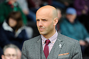 Exeter City manager Paul Tisdale before the Sky Bet League 2 match between Exeter City and Northampton Town at St James' Park, Exeter, England on 16 April 2016. Photo by Graham Hunt.