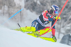Dave Ryding (GBR) during 1st run of Men's Slalom race of FIS Alpine Ski World Cup 57th Vitranc Cup 2018, on March 4, 2018 in Kranjska Gora, Slovenia. Photo by Ziga Zupan / Sportida