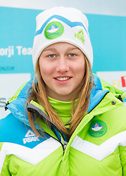 Desiree Kopse during presentation of Team Slovenia for European Youth Olympic Festival - EYOF Brasov 2013 on February 13, 2013 in Bled, Slovenia. (Photo By Vid Ponikvar / Sportida)