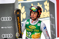 COSTAZZA Chiara of Italy reacts upon entering the Finish during the 6th Ladies' Slalom at 55th Golden Fox - Maribor of Audi FIS Ski World Cup 2018/19, on February 2, 2019 in Pohorje, Maribor, Slovenia. Photo by Blaž Weindorfer / Sportida
