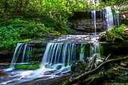Grassy Creek Falls in Little Switzerland, North Carolina.<br /> <br /> &copy; Photography by Kathy Kmonicek