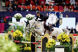 Staut Kevin, (FRA), Unna De Kerkglenn<br /> Gothenburg Horse Show FEI World Cups 2017<br /> © Hippo Foto - Stefan Lafrentz