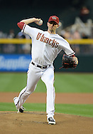 PHOENIX, AZ - APRIL 26:  Pitcher Brandon McCarthy #32 of the Arizona Diamondbacks pitches against the Colorado Rockies in the first inning at Chase Field on April 26, 2013 in Phoenix, Arizona.<br />  *** Local Caption *** Brandon McCarthy