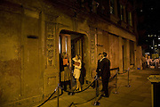 Entrance, SIMON de PURY AND THE PARTNERS OF PHILLIPS de PURY & COMPANY Host a dinner in honour of <br />ILYA AND EMILIA KABAKOV. FOLLOWED BY THE BOX PARTY HOSTED  BY QUINTESSENTIALLY.  WILTONS <br />GRACES ALLEY  OFF ENSIGN STREET, London E1. 12 October 2007. -DO NOT ARCHIVE-© Copyright Photograph by Dafydd Jones. 248 Clapham Rd. London SW9 0PZ. Tel 0207 820 0771. www.dafjones.com.