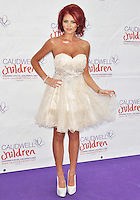 LONDON - MAY 31: Amy Childs at the Caudwell Children Diamond Butterfly Ball 2012