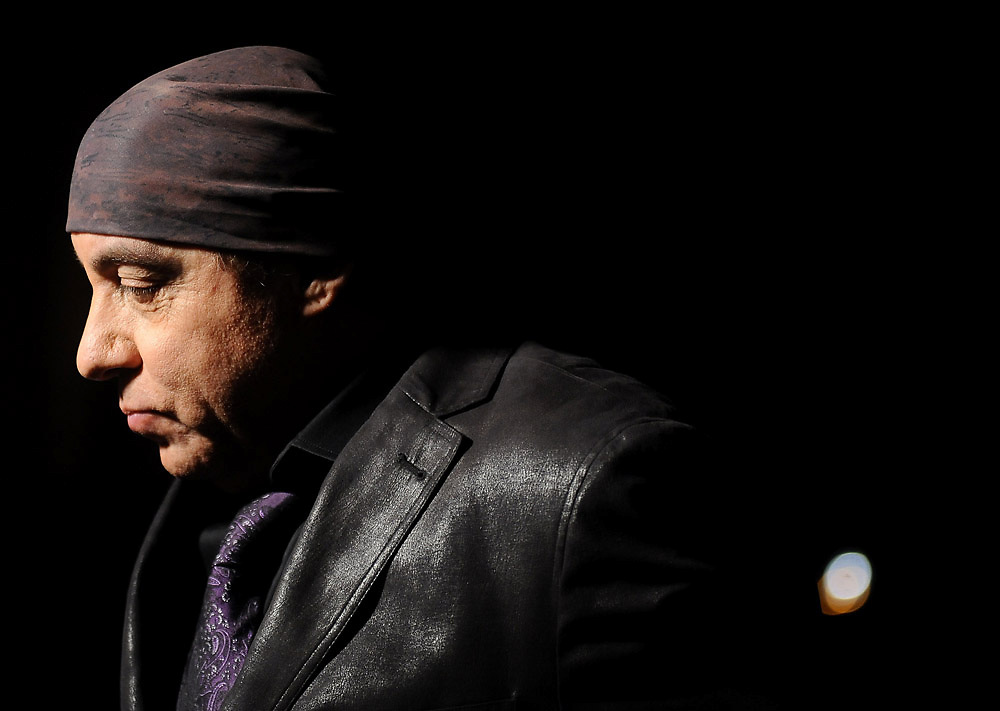 Musician Steven Van Zandt photographed during the 2012 Hamptons International Film Festival
