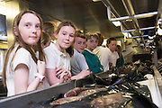 As part of the SEA FOR SOCIETY ocean awareness initiative pupils Adam Howard and Mark O'Reilly  from Gael Scoil Uileog de Burca , Claremorris visited the Marine Institute's RV Celtic Explorer . Photo:Andrew Downes:XPOSURE