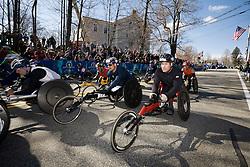 mobility-impaired athletes start race