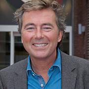 NLD/Hilversum/20111103- Perspresentatie De Pelgrimscode EO, presentator Bert van Leeuwen