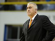 Feb 19, 2011; Long Beach, CA, USA; Montana Grizzlies coach Wayne Tinkle reacts during the game against the Long Beach State 49ers at the Walter Pyramid. Long Beach State defeated Montana 74-56.