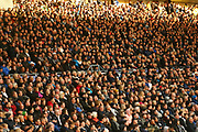 The crowd during the EFL Sky Bet Championship match between Derby County and Aston Villa at the Pride Park, Derby, England on 10 November 2018.