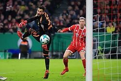 20171220, DFB Pokal, FC Bayern vs Borussia Dortmund, Allianz Arena Muenchen, Fussball, Sport, im Bild:...Roman Buerki (BVB) vs Robert Lewandowski (FCB)..*Copyright by:  Philippe Ruiz..Postbank Muenchen.IBAN: DE91 7001 0080 0622 5428 08..Oberbrunner Strasse 2.81475 MŸnchen, .Tel: 089 745 82 22, .Mobil: 0177 29 39 408..( MAIL:  philippe_ruiz@gmx.de ) ..Homepage: www.sportpressefoto-ruiz.de. (Credit Image: © Philippe Ruiz/Xinhua via ZUMA Wire)